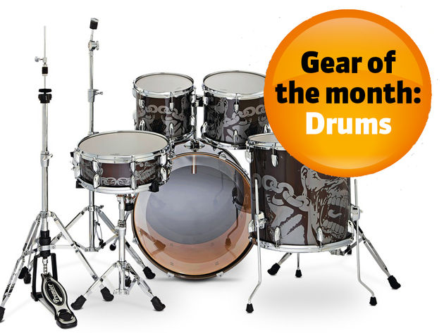 Drum gear of the month: December 2011