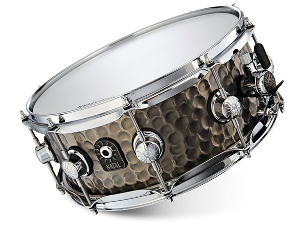 Natal Steel Shell snare drums