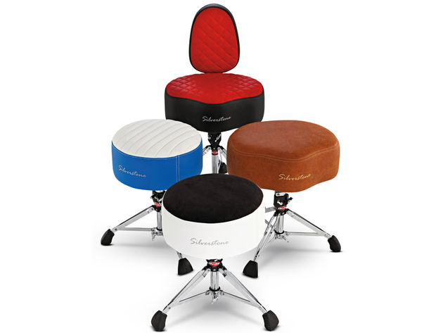 Silverstone offers two basic thrones, round and moto, and all can be fitted with a backrest.