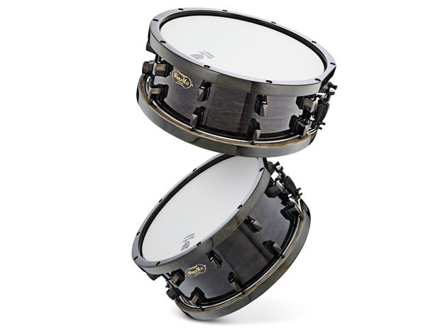 Worldmax Traditional Black Wood Hoop snare drums