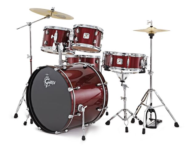 Two choices of wrap finish  are available for the GS1, including this Dark Red Metallic wrap.