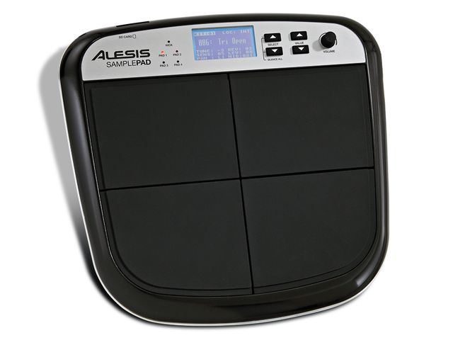 Samplepad is similar to Alesis' Percpad but with the ability to play user-created samples