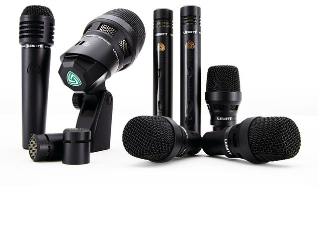 The DTP Beat Kit Pro 7 consists of seven microphones - four dynamics for snare and toms, two overhead condensers and a dual capsule bass drum mic