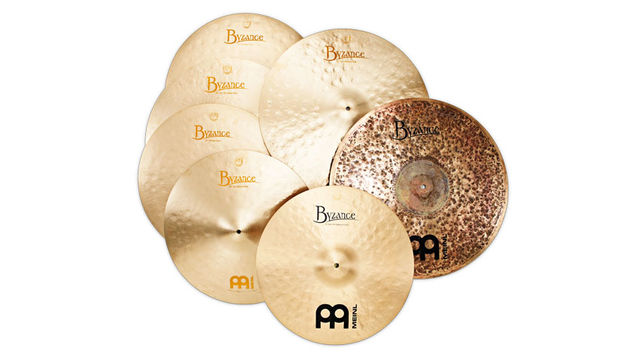 Byzance cymbals are individually cast and hand-hammered in Turkey before sending on to Germany for cosmetic finishing