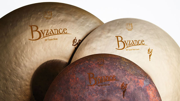 Meinl's sandblasting process creates a semi-matt sheen that is similar to an age-induced patina