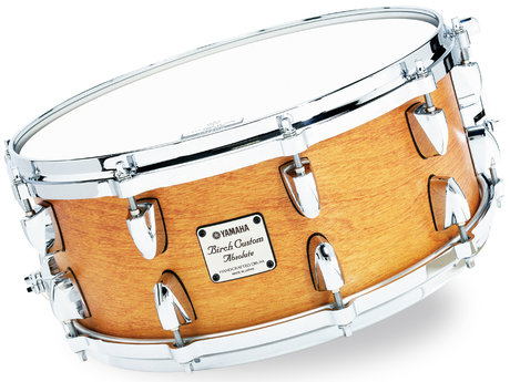 Yamaha birch custom absolute snare