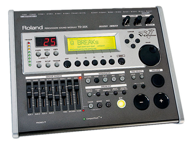 Featuring the sounds and features of both the original TD-20 module and TDW-20 expansion card, the TD-20X is a world-beating sound source