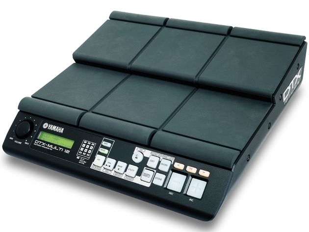 yamaha dtx multi 12 electronic percussion pad drum