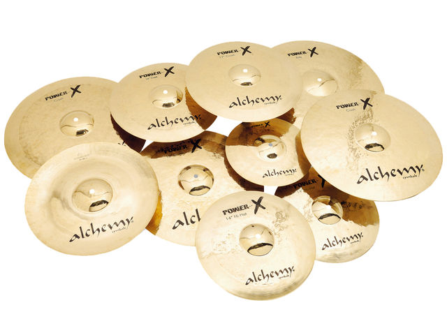 Power-X cymbals are aggressively voiced and quite at home in high-volume situations