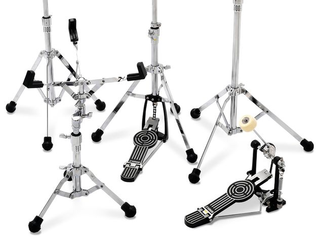 Sonor 100, 200 and 400 series hardware sets (£215)