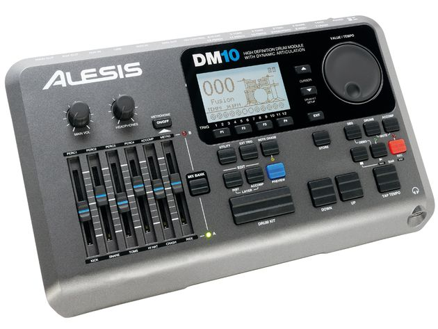 The DM10's USB connection is a small but important feature, allowing communication by MIDI and the downloading of new soundsets to the brain