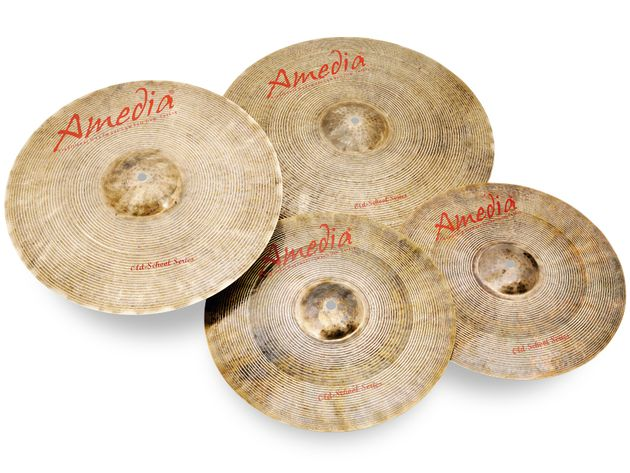 Amedia Old School Series cymbals (£140)
