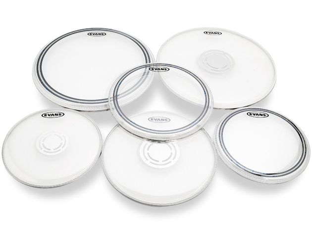 Evans EC2 SST and Power Center drum heads (from £15.99)