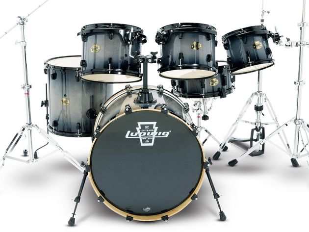 Ludwig Element Laquer Series Power drum kit (£829)