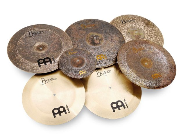 Meinl Byzance Cymbals - Traditional, Dark and Extra Dry ranges (from £132)