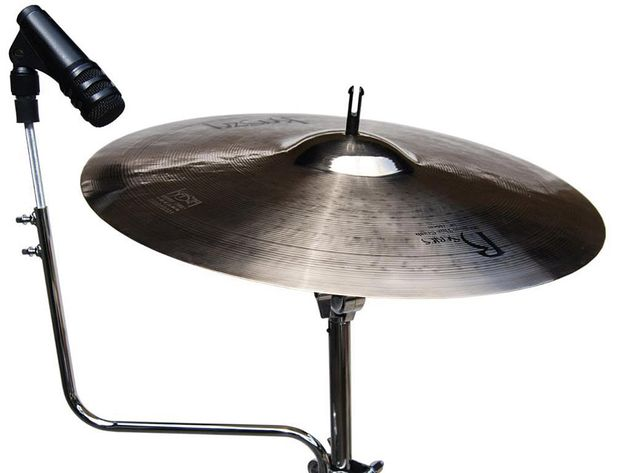 The AHCYM snare/cymbal mount.