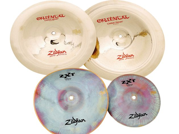 Zildjian Oriental China Trashes and ZXT Trashformers (£273)