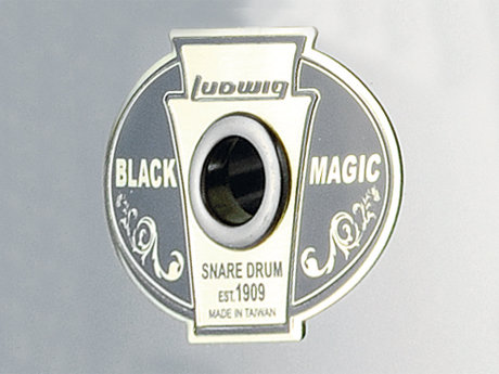Ludwig black magic snare drums