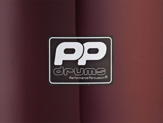 Drums feature a newly minted PP logo in a smart white-on-black design.
