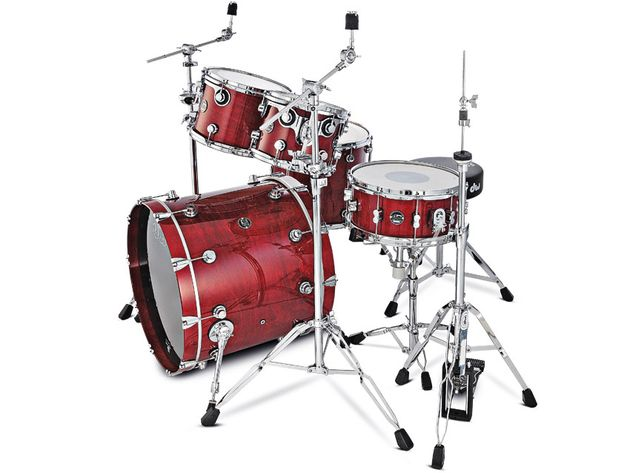 The Performance Series are DW's first range of production drums.