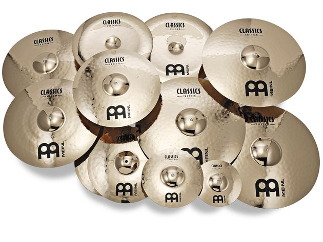 Meinl Classics Custom Series cymbals (from £60)