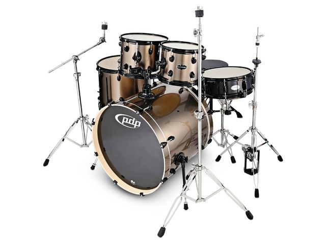 """The kit would appear to have been designed as much to a drummer's specifi cations as it has to meet a price, and the build quality is faultless."""