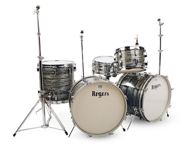 English Rogers double bass kit