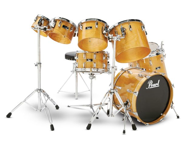Phil Collins' Pearl DLX kit