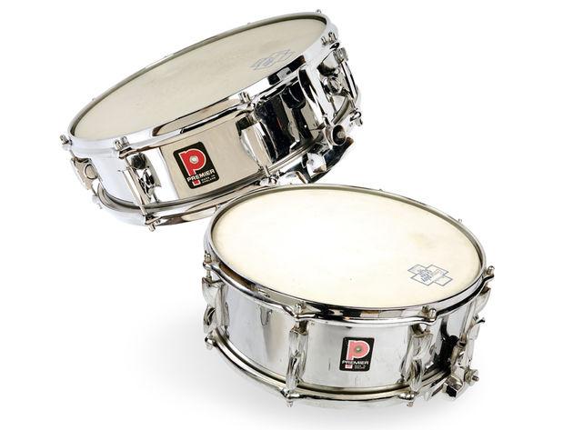 Premier Chrome 2000 snares