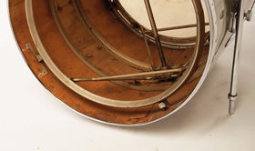 Vintage drum gear: Reno Pressure Ring Drum Kit