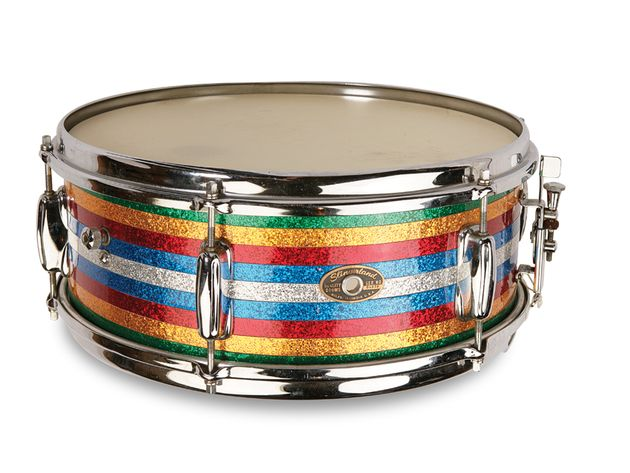 Candy Striped Slingerland Student snare