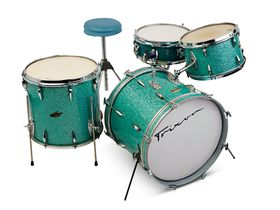 Vintage drum gear: Trixon kits