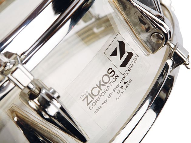 Zickos Transparent Drum Kit