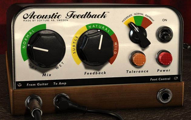 Acoustic Feedback's simple GUI shouldn't cause you too many headaches