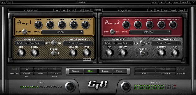 GTR3 now comes with 26 amps
