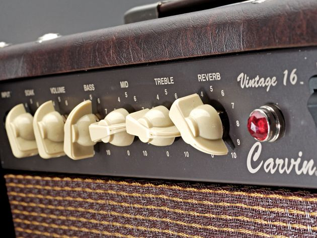 Get boutique tone on a budget from this US-made Carvin.