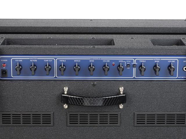 The hybrid AC30VR adds modern features to a vintage design.