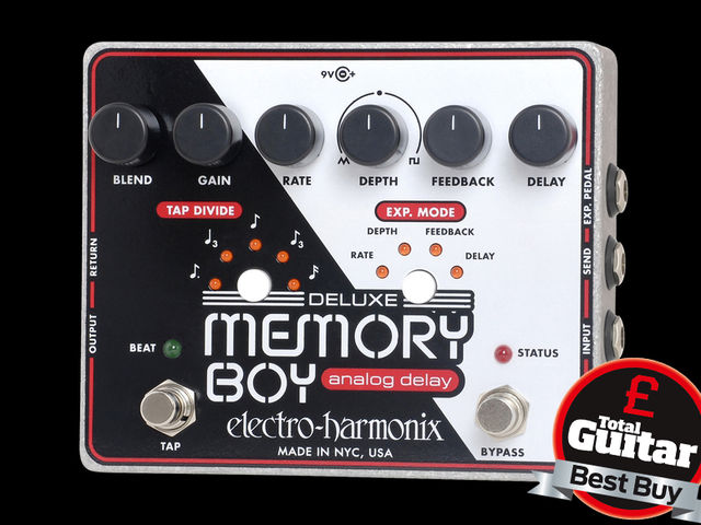 Feature-packed, vintage-voiced delay stompbox