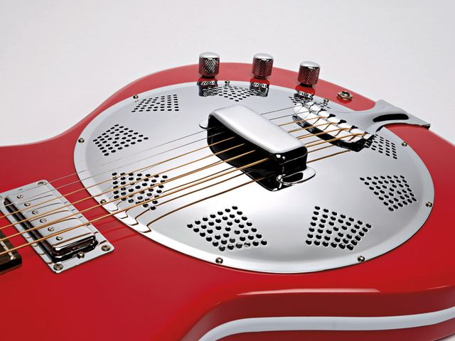 Electric guitarists after the resonator sound will love the Folkstar's playability.