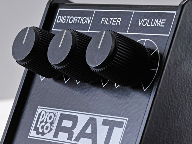 Pro Co Reissue '85 Whiteface RAT distortion pedal (£229)
