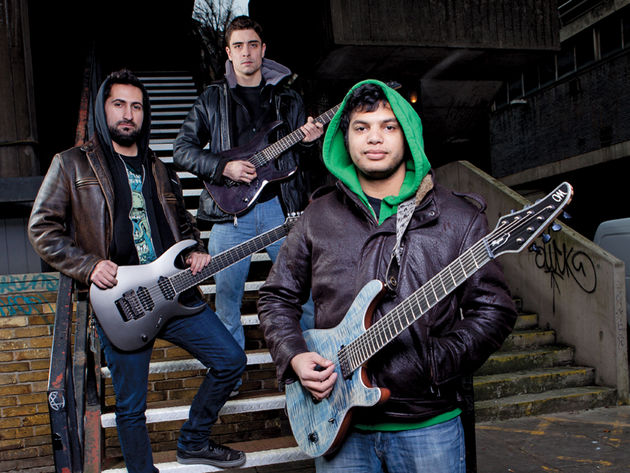 Periphery: three guitarists, 20 strings, thousands of fans across the globe