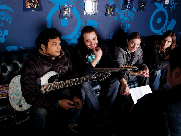 Djent's gents: Misha Mansoor of Periphery, Monuments' John Browne and TesseracT's Acle Kahney