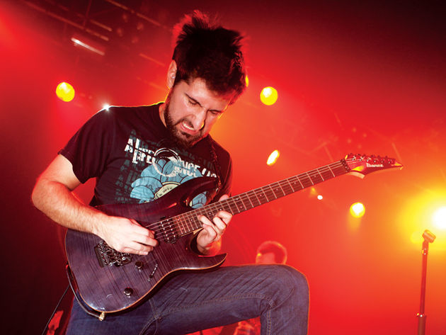 Periphery guitarist Jake Bowen was a fan before joining Misha in the line-up