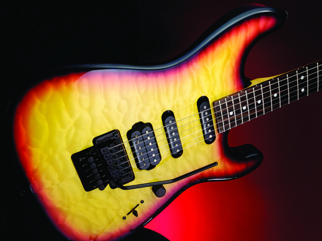 Charvel has its roots in the 80s superstrat boom.