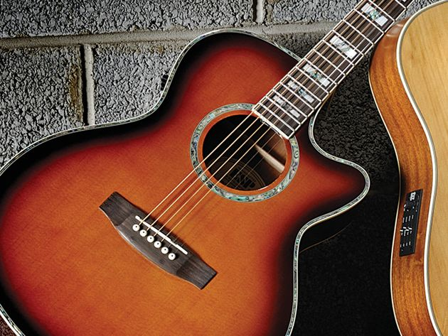 The AC-10E is LTD's first acoustic.