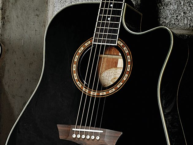 Washburn have produced a well-built guitar with great sound quality.