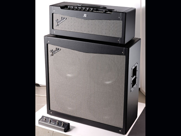 For an extra £287, you can get Fender's matching V412 speaker cab.