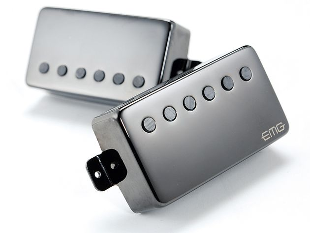 EMG and James Hetfield have teamed up to produce the JH pickups.