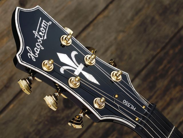 Hagstrom's HL-550 is so jazz, you'll be reaching for the Gauloises.