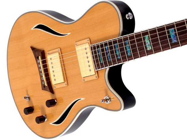 The Michael Kelly Hybrid Special is a simply stunning-looking guitar...